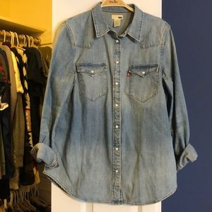 Levi denim shirt
